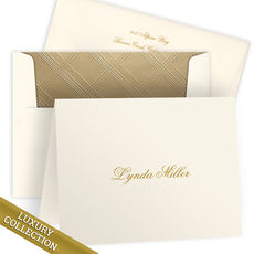 Luxury Miller Folded Note Card Collection
