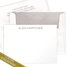 Luxury Lancaster Flat Note Card Collection