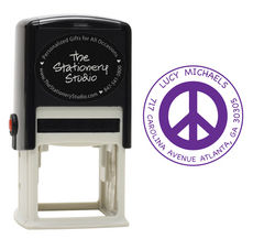 Peace Self-Inking Stamper