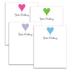 Hearts Notepad Collection
