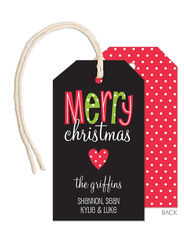 A Merry Heart Little Hanging Gift Tags