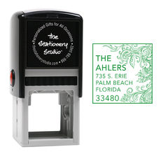 The Beautiful Vine Self Inking Stamper