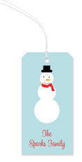 Snowman Hanging Gift Tags