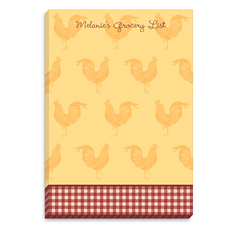 Good Morning Rooster Notepads