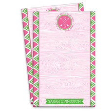 Pink Arrow Camp Mail Notepads
