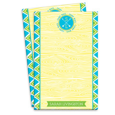 Yellow Arrow Camp Mail Notepads