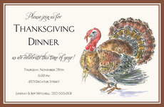 Wild Turkey Invitations