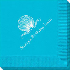Graceful Seashell Napkins