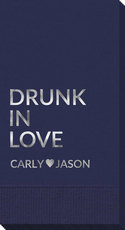 Drunk In Love Guest Towels