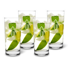 Maestro 13 oz. Deluxe Highball Glassware Set of 4