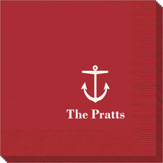 Nautical Anchor Napkins