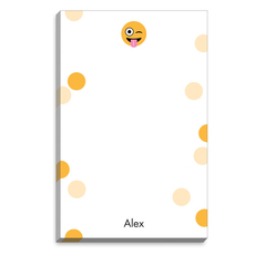 Emoji Silly Dots Notepads