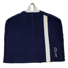 Personalized Navy Garment Bag