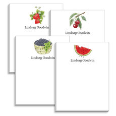 Summer Fruit Notepad Collection