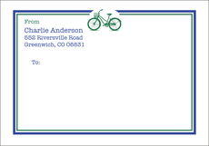Bicycle Large Shipping Labels