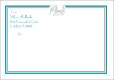 Elephant Large Shipping Labels