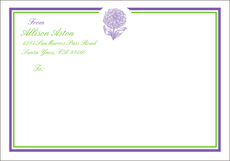 Zinnia Large Shipping Labels