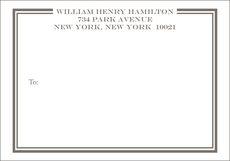 William Large Shipping Labels