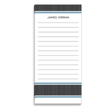 Charcoal Wool List Notepad