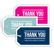 Bold Thank You Hanging Gift Tags