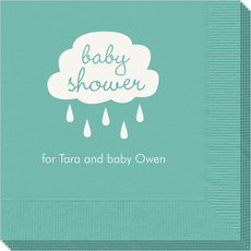 Baby Shower Cloud Napkins