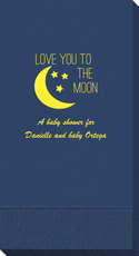 Love You To The Moon Guest Towels