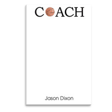 Basketball Coach Notepad