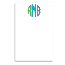 Gradient Monogram Notepads