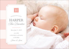 Simply Sweet Baby Photo Announcements