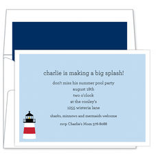 Lighthouse Invitations