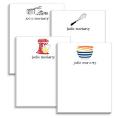 Gourmet Kitchen Notepad Collection