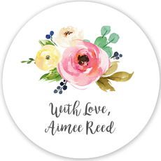 Rose Bunch Gift Stickers