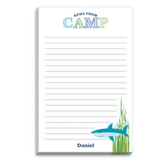 Blue Under the Sea Camp Notepads