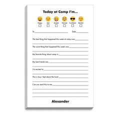 Emoji Today at Fill In Camp Notepads