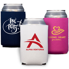 Collapsible Koozies with Your 1-Color Artwork