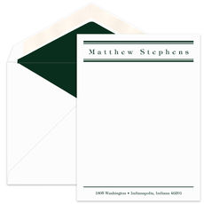Upright Flat Note Cards