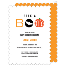 Boo Baby Shower Invitations