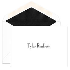 Alexander Informal Folded Note Cards