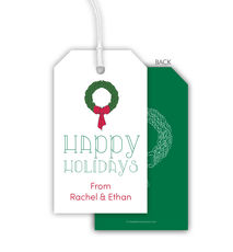 Happy Holidays Hanging Gift Tags