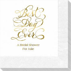 Whimsy Best Day Ever Napkins