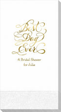 Whimsy Best Day Ever Guest Towels