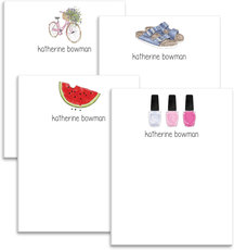 Summer Weekend Fun Notepad Collection