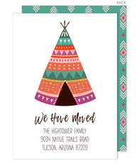 Teepee Moving Announcements
