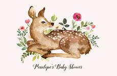 Spring Fawn Placemats