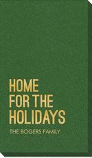 Home For The Holidays Linen Like Guest Towels