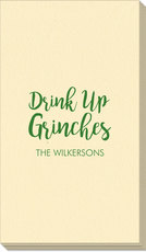 Drink Up Grinches Linen Like Guest Towels