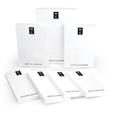 Stacked Initials Notepad Collection