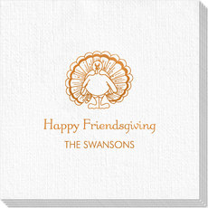 Friendsgiving Luxury Deville Napkins