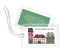 City Dwellings Luggage Tags