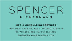 Spencer Business Cards